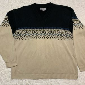 Aeropostale Knit Pullover Sweater Cotton Large